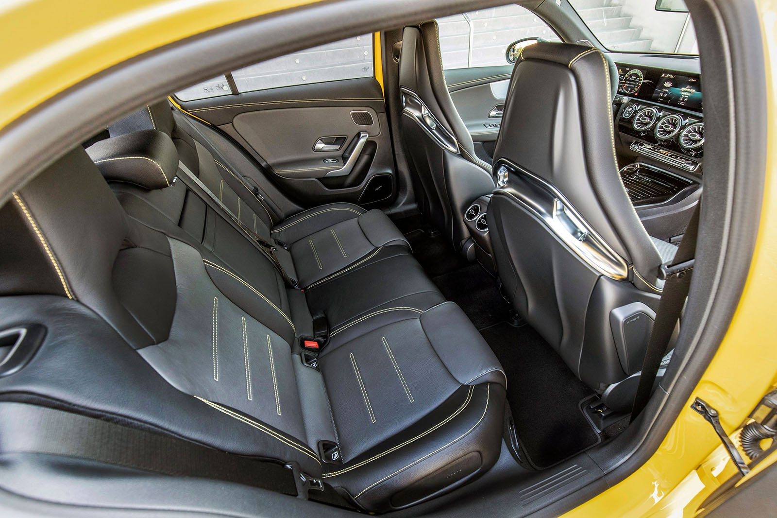 Mercedes-AMG A45 2019 LHD rear seats