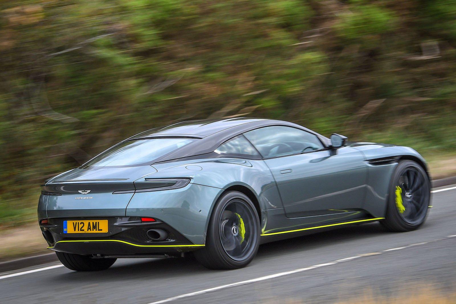 Aston Martin DB11 AMR Rear Tracking
