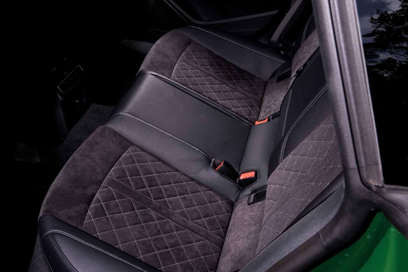 Audi RS5 Sportback 2019 RHD rear seats