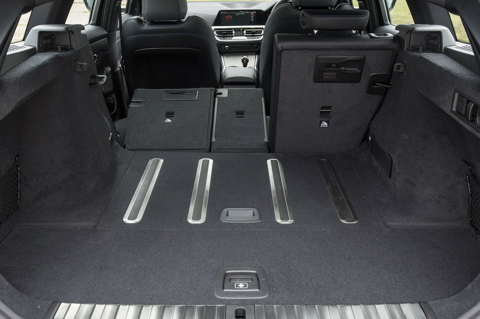 BMW 3 Series Touring 2019 RHD boot open