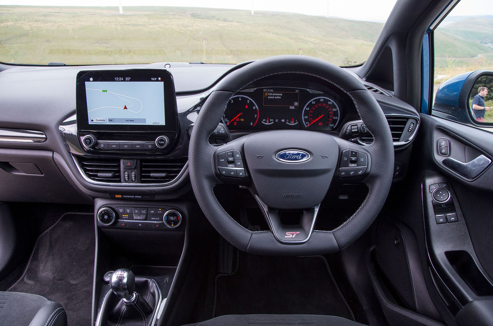 2019 Ford Fiesta ST dashboard