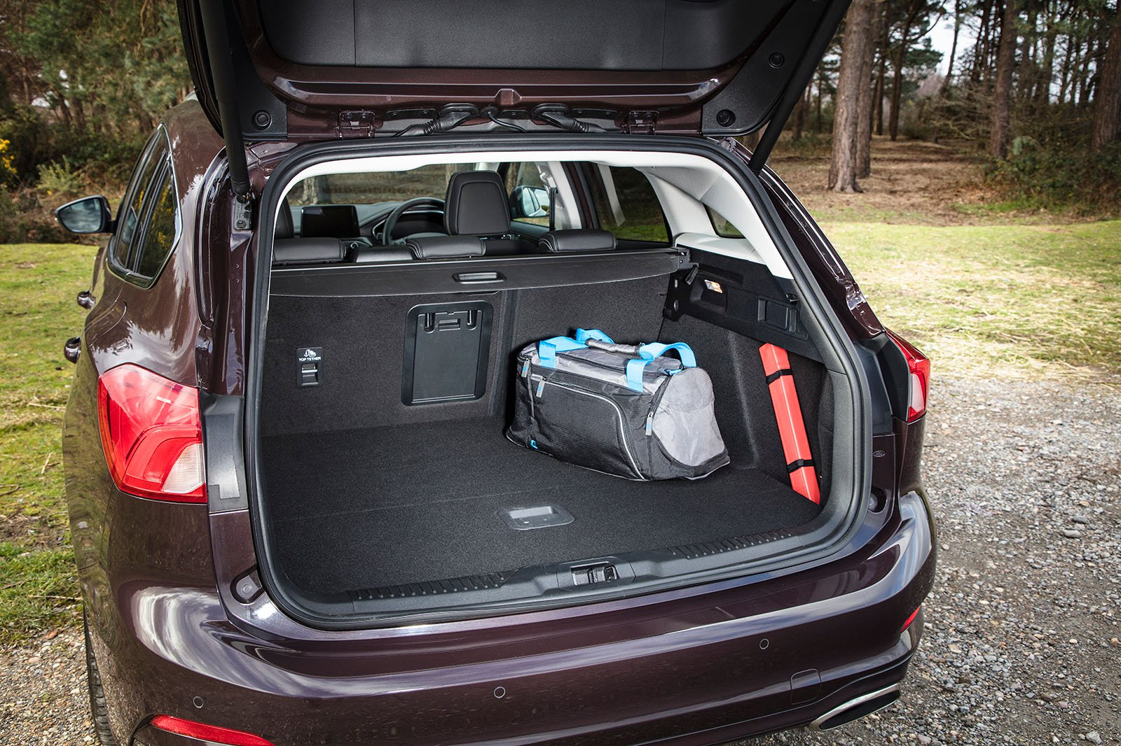 Ford Focus Estate 2019 boot open