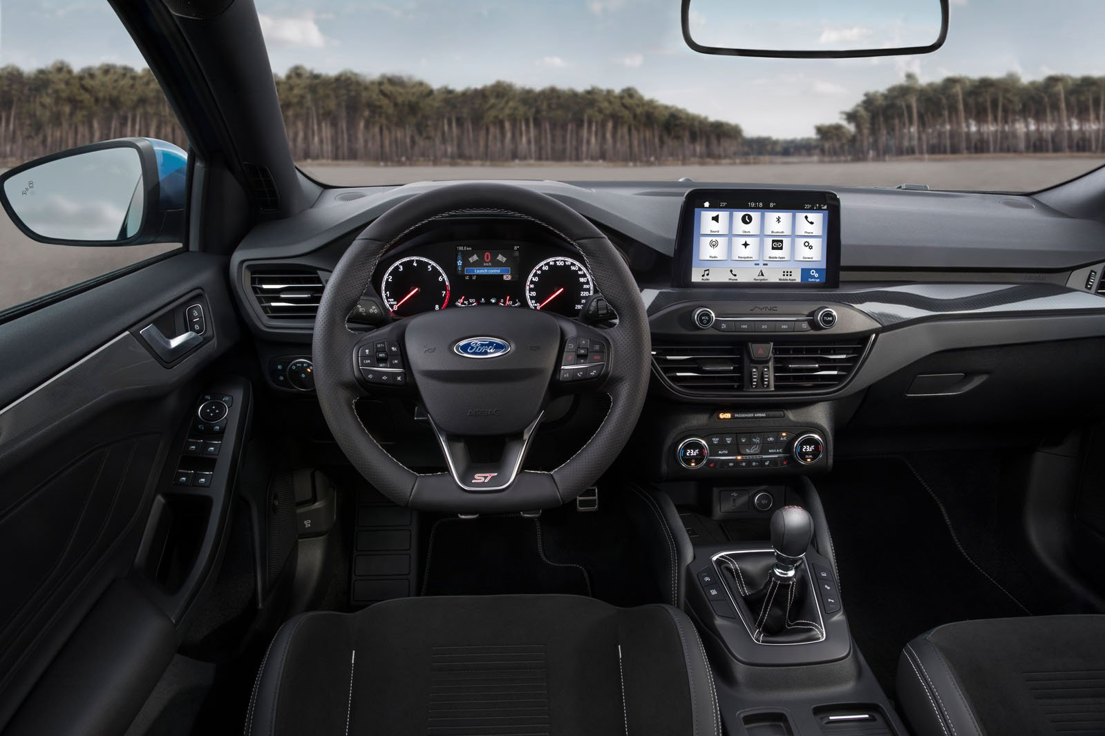 Ford Focus St Interior Sat Nav Dashboard What Car