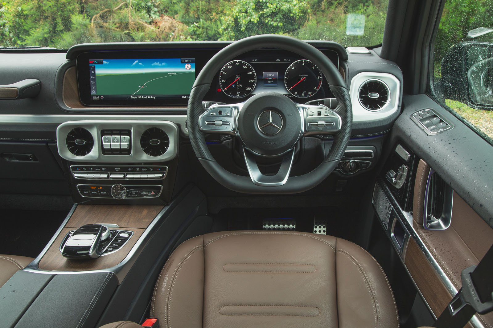 Mercedes-Benz G-Class 2019 RHD dashboard