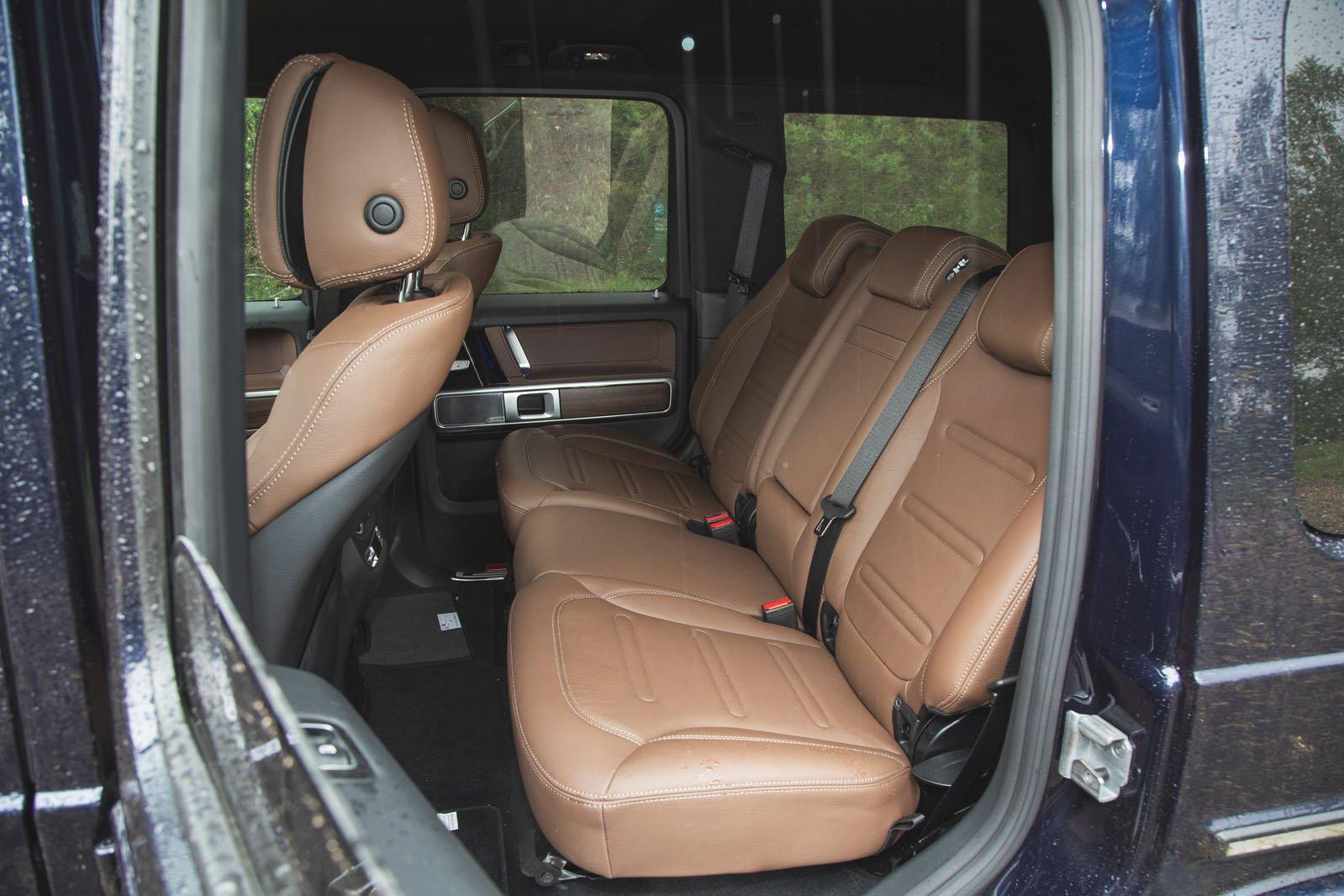 Mercedes-Benz G-Class 2019 RHD rear seats