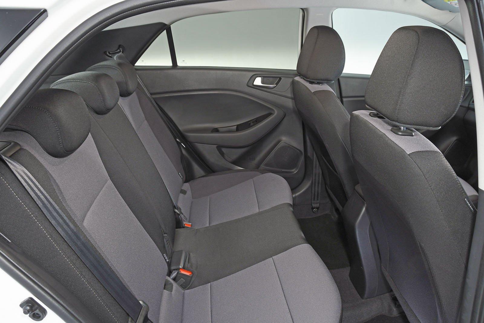 Hyundai i20 2018 RHD rear seats