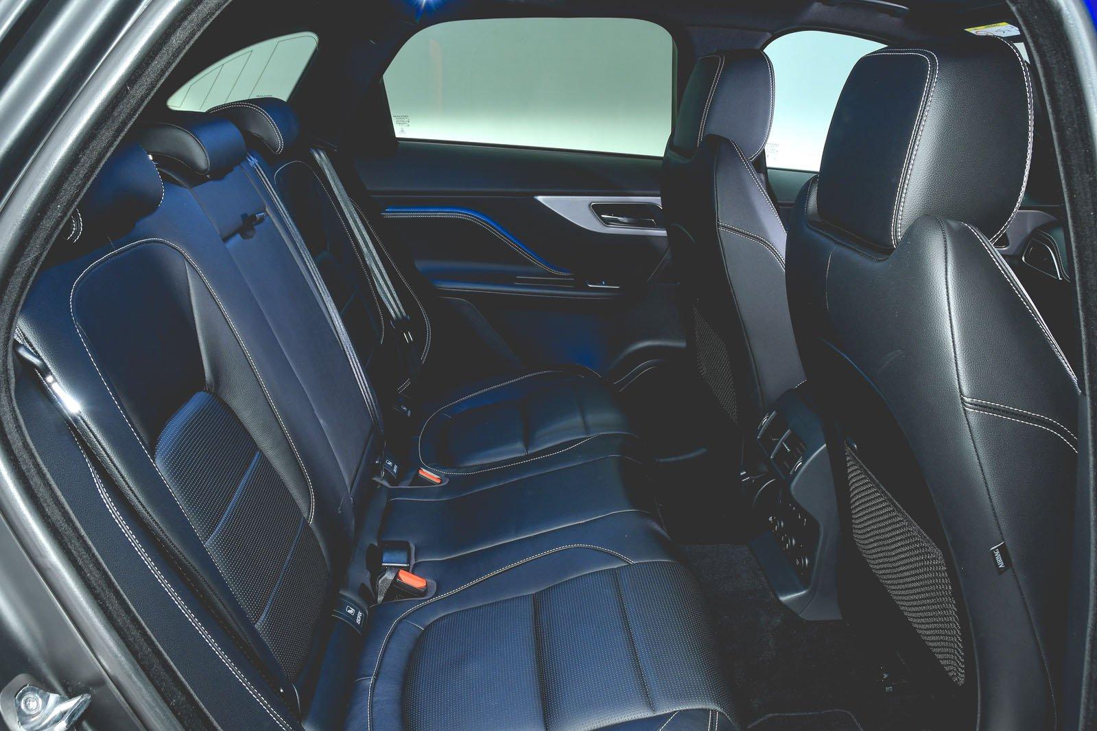 Jaguar F-Pace 2018 RHD rear seats