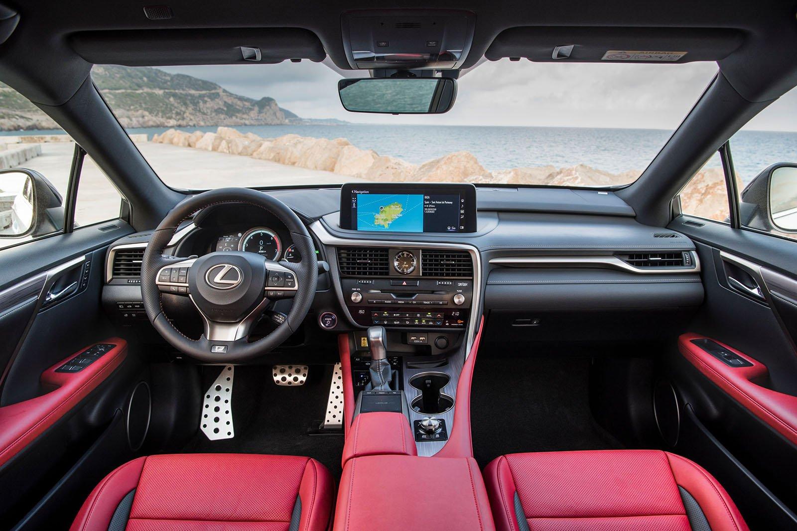Lexus RX 2019 LHD dashboard