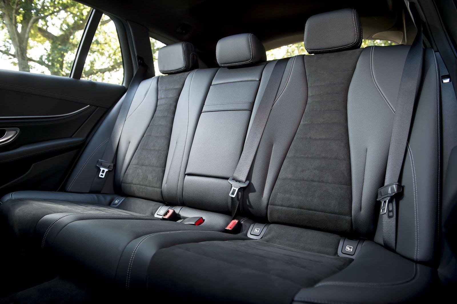 Mercedes-Benz E-Class Estate rear seat