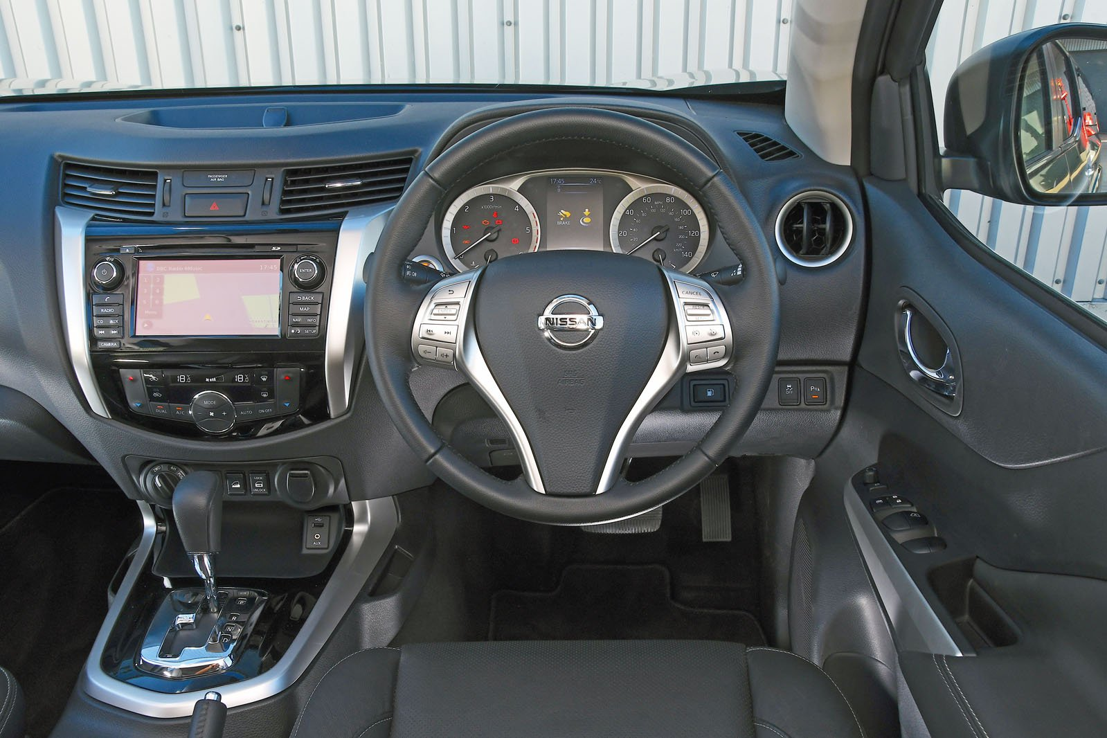 Nissan Navara 2018 RHD dashboard