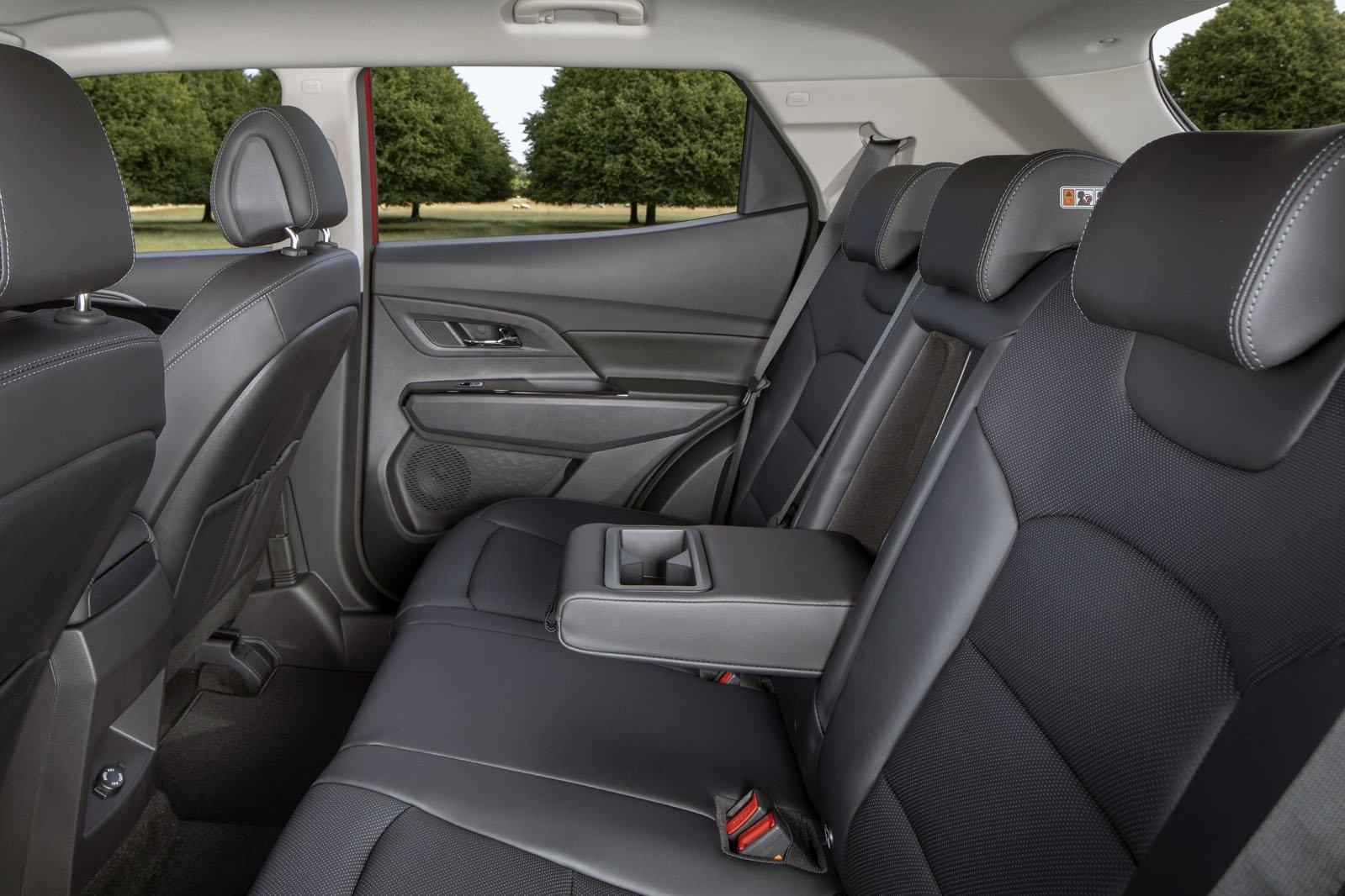 Ssangyong Korando 2019 rear seats