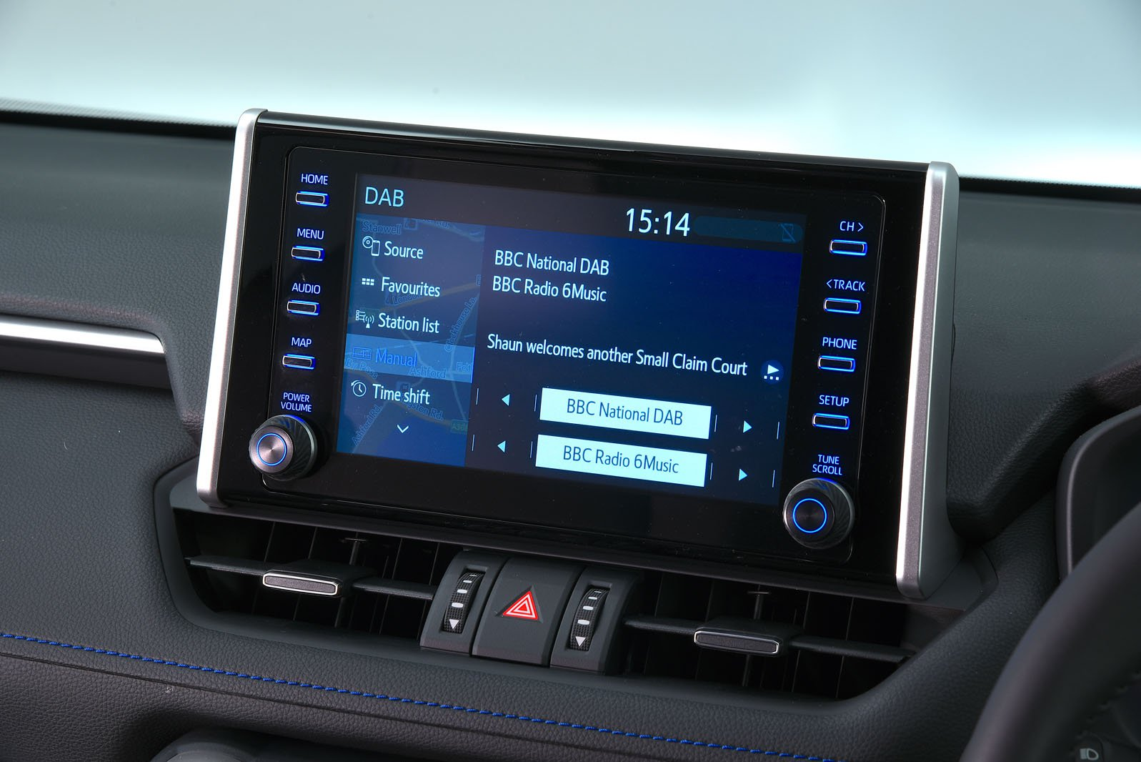 Toyota RAV4 2021 infotainment